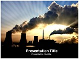 Coal Pollution Powerpoint Templates