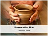 Sand Molds Powerpoint Template