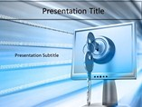 Technology Powerpoint Templates  - Data Security