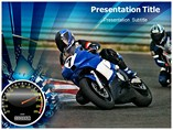 Racing Competition Powerpoint Template