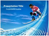Snowboarding Powerpoint Template