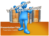 Information Technology Management Powerpoint Templates
