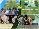 School Camp Powerpoint Template