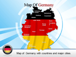Germany Powerpoint Map Template