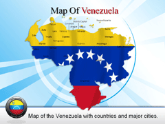 Venezuela PowerPoint map