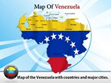 Map of Venezuela States Powerpoint Map Template