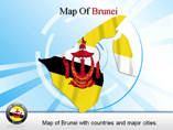 Brunei Powerpoint Map Templates