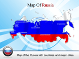 Russia Powerpoint Map Template