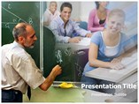 Academic Professor Powerpoint Template