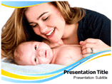 Mother Care Powerpoint Templates