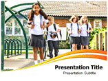 School Kids Powerpoint Templates