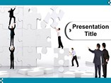 business powerpoint templates-Team Work