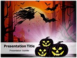 Halloween Pumpkins Powerpoint Templates