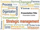 Management Strategic PowerPoint Theme