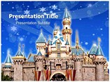 Disney World Vacations Powerpoint Templates