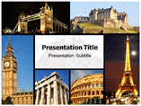 Europe Tourism Powerpoint Templates