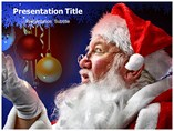 Santa Powerpoint Templates for Christmas
