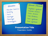 Genes and Diseases PowerPoint themes