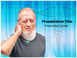 Neck Pain ppt Templates