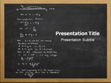 Formula Derivation PPT Templates