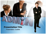 Administrative Management Services PowerPoint Theme