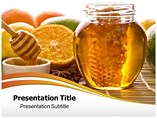 Honey  Powerpoint Background