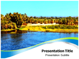 Nile River Valley PPT Template