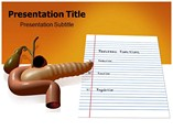 Pancreas Function PowerPoint Template
