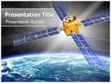 Satellite Phone PPT Template