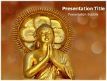 Buddhism History & Buddhism Powerpoint Template