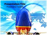 Southwest Airlines Promo Powerpoint Templates