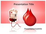 Medical powerpoint templates - Donate Blood 