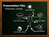 Renewable Energy Source Powerpoint Template