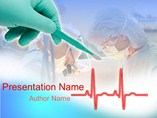 Medical powerpoint templates - Heart Operation