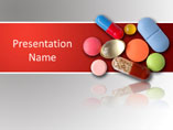 Medicinal Pills PowerPoint Background