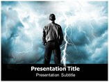 Lightning Crashes PowerPoint Template