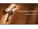 mac powerpoint template - Key to success