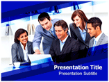 Business Meeting Etiquette PowerPoint Theme