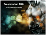 Muscular Powerpoint Template