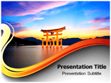 Torii Gate Powerpoint Template