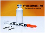 Influenza Vaccine Medicine Powerpoint Template