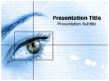 Eye of Human Powerpoint Template