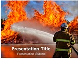 Fire Fighter Powerpoint Templates