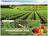 Organic Farming Powerpoint Templates