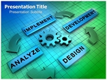 Process Management PowerPoint Background