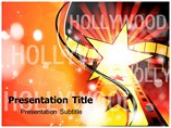 Hollywood Stars Powerpoint Templates