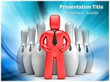 Powerpoint Template on Successful Leader