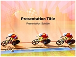 Racing  Powerpoint Templates