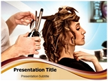 Powerpoint Template on Hair Salon