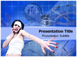 Powerpoint Template on Mental Patient